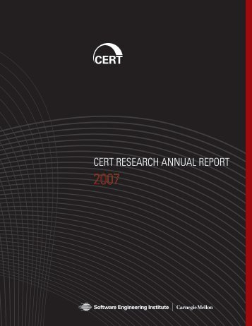 cert research annual report 2007