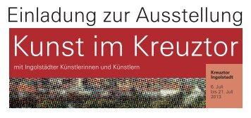 Einladung zur Ausstellung - Kreuztor