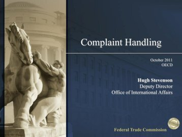 Federal Trade Commission - OECD