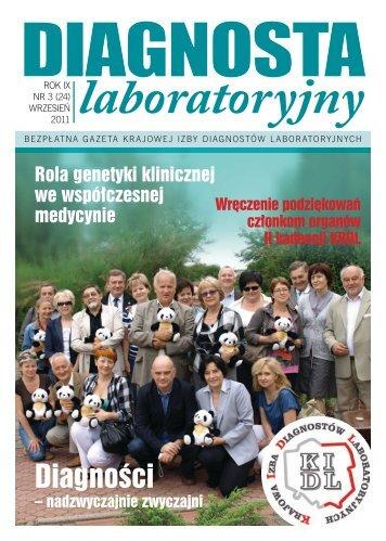 Diagnosta laboratoryjny - Krajowa Izba Diagnostów Laboratoryjnych