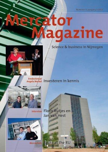 Mercator Magazine - RegioinBedrijf