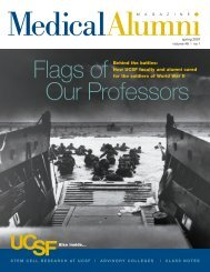 Behind the battles: How UCSF faculty and alumni cared for the ...