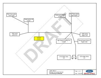 Visio Cm 14a005 B Controls Pack Cj Rev H Ford Racing Parts besides Security System Sequence Diagram moreover Wiring Harness Business likewise Ls3 Engine Diagram in addition 1998 Cadillac Deville Serpentine Belt Diagram. on wiring harness visio