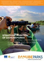 Strategic Position and Action Plan on Tourism ... - DANUBEPARKS