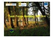 Task Force Meeting WP 3+4 - DANUBEPARKS