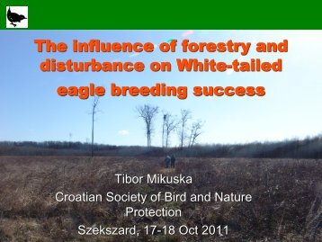 The influence of forestry and disturbance on ... - DANUBEPARKS