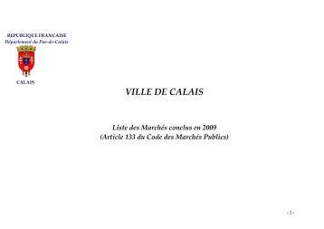 Lot n° 9 - Ville de Calais