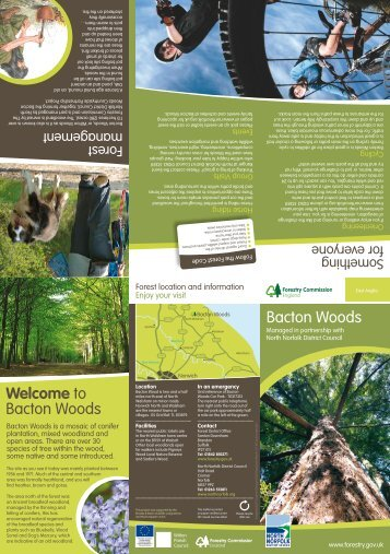 Bacton Woods - North Norfolk District Council