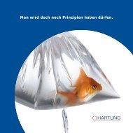 Firmenbroschüre - Hartung | Druck + Medien GmbH