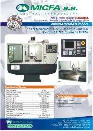 Catálogo fresadoras CNC - Logismarket