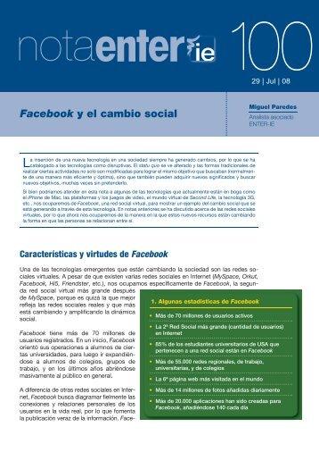 Descargar Facebook y el cambio social.pdf - Anobium