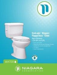 EcoLogic™ Niagara Flapperless® Toilet - Niagara Conservation