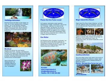 Magic Island Dive Resort Vielfältige Aktivitäten Planen Sie Ihre ...