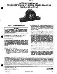 l DODGE SN2000 Spherical Bearing Pillow Blocks - PTplace.com