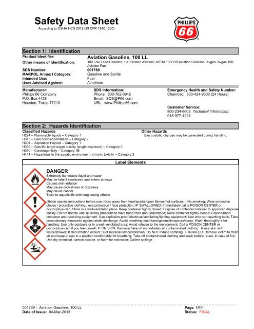 USE ONLY AVGAS 100LL placard