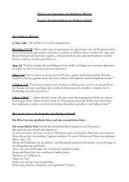 Wichtiges zur Inspiration der Bibel.pdf - Helmut Blatt