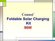 iSolar Portable Folding Solar Kit 90W - Connoiseur