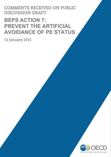 public-comments-action-7-prevent-artificial-avoidance-pe-status