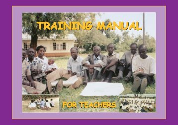 Training Manual for teachers - INEE