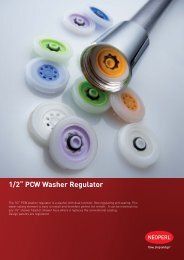 "neoperl® 1/2"" pcw washer regulator - Tonix"