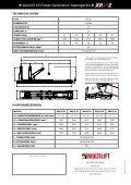 Multilift XR Power Generation Hakengeräte - Seite 2