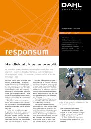 Klik her for at hente Responsum juni 2009 - Dahl