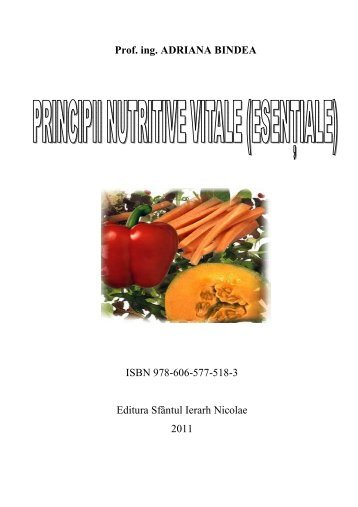 Principii nutritive vitale
