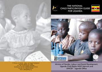 The National Child Participation Guide for Uganda - INEE Toolkit