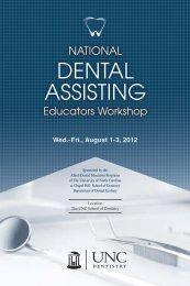 Registration National Dental Assisting Educators Workshop