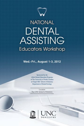 Registration National Dental Assisting Educators Workshop