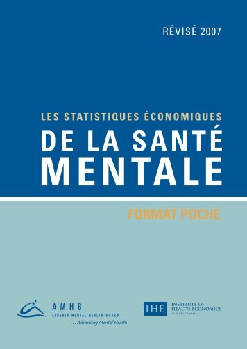 FORMAT POCHE DE LA SANTÉ MENTALE - Institute of Health ...