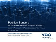 Position Sensors: Global Market Demand Analysis ... - VDC Research
