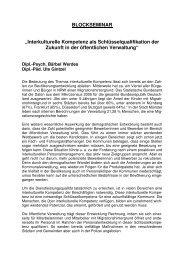 Ausschreibung Blockseminar Werdes und Gintzel