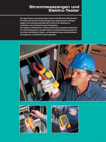 Strommesszangen der Serie 330 - Ulrich Matter AG