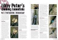 Trad Climbing (part 2) - Libby Peter