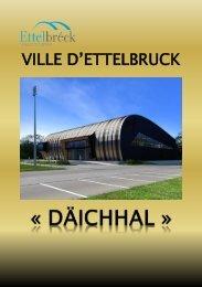 Brochure inauguration - Ettelbruck