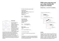 DFID action planning and peri-urban livelihoods project for ... - NRSP