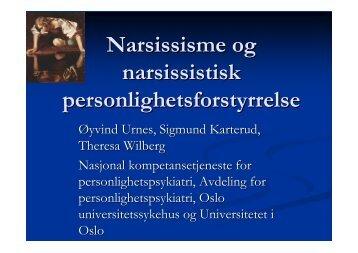Hva er narsissisme? - KoRus Bergen