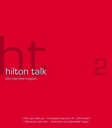 hilton talk - Pierre Franckh