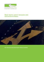 Road Traffic Safety Research and Education in Israel – Peer review ...