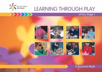 Key Stage 1, Learning Through Play - Northern Ireland Curriculum