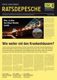 Ratsdepesche 1/2012 - FDP-Fraktion
