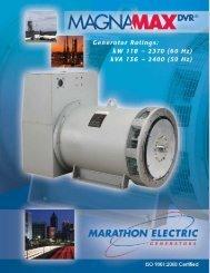 Permanent Magnet Generator - Marathon Electric