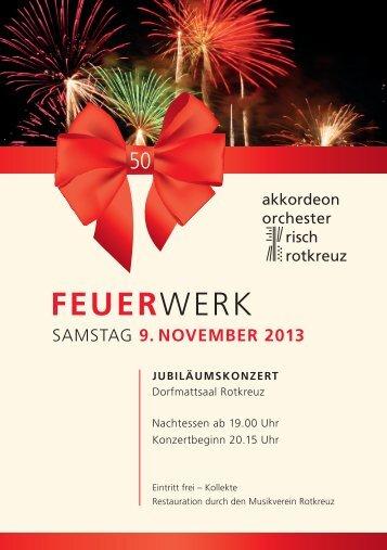 FEUERWERK - Akkordeon Orchester Risch Rotkreuz