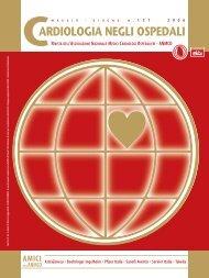Cardiologia negli Ospedali n° 151 Maggio/Giugno 2006 - Anmco
