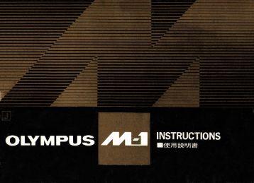 Instruction Manual (Japanese) - Olympus