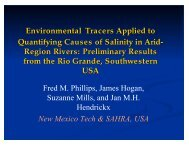 Download PDF of presentation - SAHRA