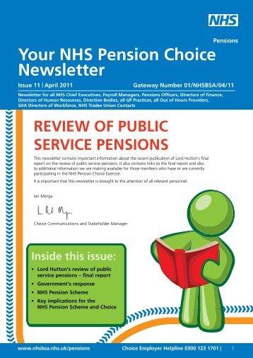 Employer Choice Newsletter 11