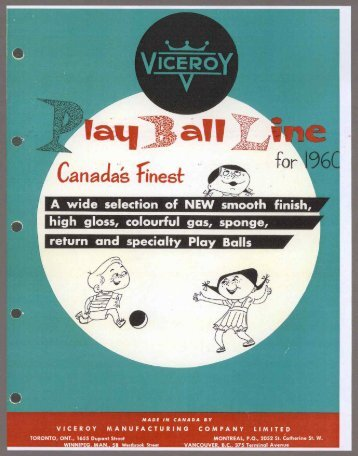 Play Ball Line - 1960 PDF download