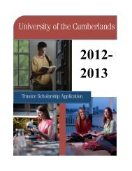 Trustee Scholarship Recommendation Form - University of the ...